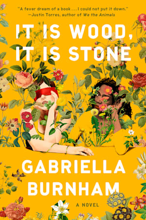 Book cover for It Is Wood, It Is Stone by Gabriella Burnham