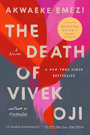 Book cover for The Death of Vivek Oji by Akwaeke Emezi