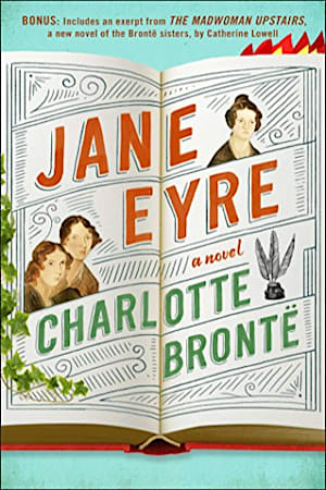 Book cover for Jane Eyre by Charlotte Brontë
