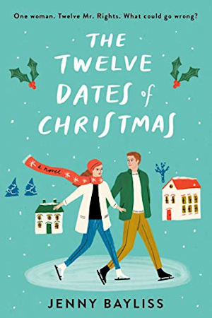 Book cover for The Twelve Dates of Christmas by Jenny Bayliss