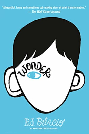 Book cover for Wonder by R. J. Palacio