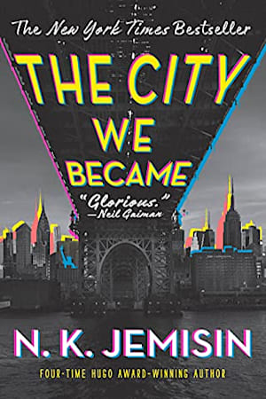 Book cover for The City We Became by N. K. Jemisin