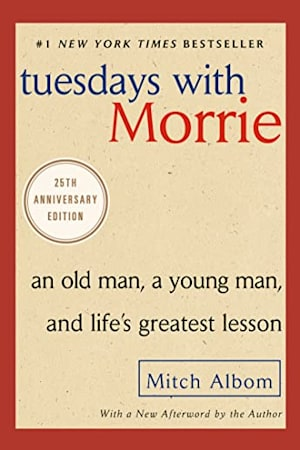 Book cover for Tuesdays with Morrie by Mitch Albom