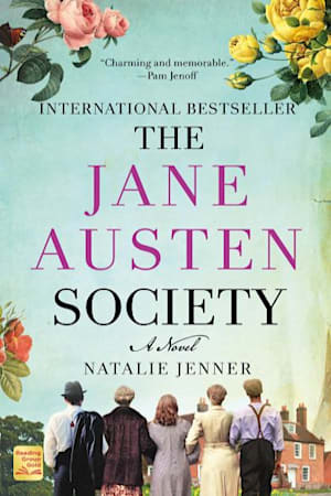 Book cover for The Jane Austen Society by Natalie Jenner
