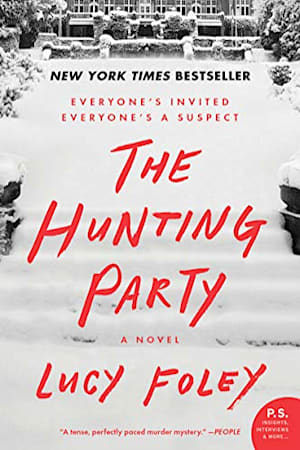 Book cover for The Hunting Party by Lucy Foley