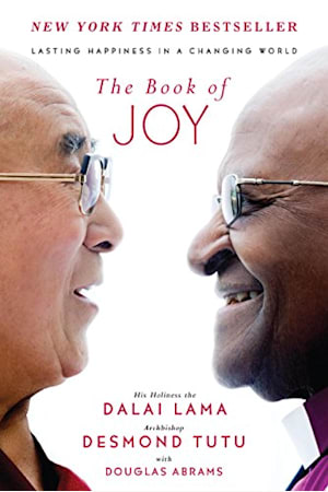 Book cover for The Book of Joy by Dalai Lama XIV, Desmond Tutu, Douglas Carlton Abrams