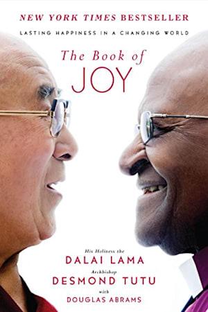 Book cover for The Book of Joy by Dalai Lama XIV, Desmond Tutu, Douglas Carlton Abrams