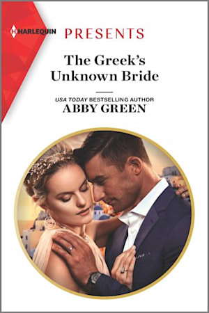 Book cover for The Greek's Unknown Bride by Abby Green