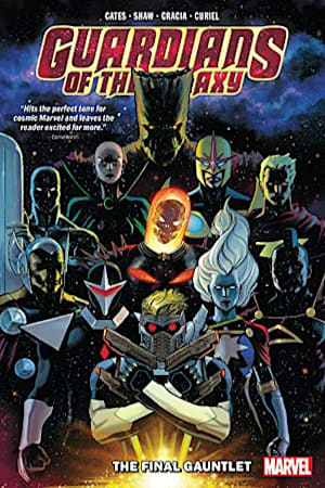Book cover for Guardians Of The Galaxy Vol. 1: The Final Gauntlet (Guardians of the Galaxy (2019)) by Donny Cates