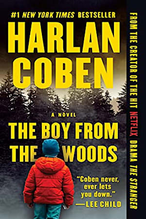 Book cover for The Boy from the Woods by Harlan Coben