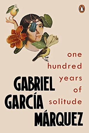 Book cover for One Hundred Years of Solitude by Gabriel García Márquez