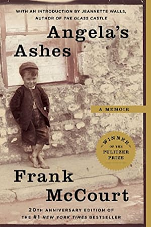 Book cover for Angela's Ashes by Frank McCourt