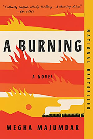 Book cover for A Burning by Megha Majumdar