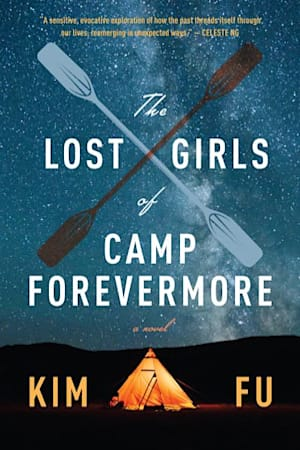 Book cover for The Lost Girls of Camp Forevermore by Kim Fu