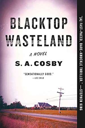 Book cover for Blacktop Wasteland by S.A. Cosby