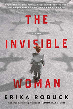 Book cover for The Invisible Woman by Erika Robuck