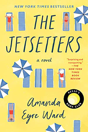 Book cover for The Jetsetters by Amanda Eyre Ward