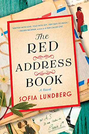 Book cover for The Red Address Book by Sofia Lundberg