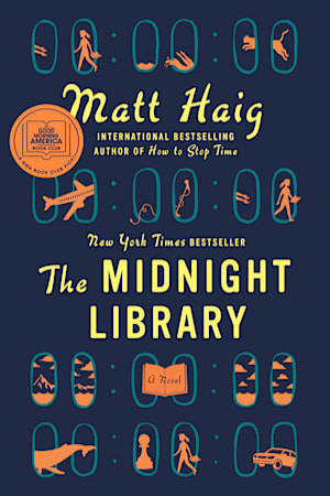 Book cover for The Midnight Library by Matt Haig