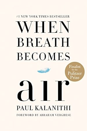 Book cover for When Breath Becomes Air by Paul Kalanithi