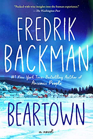 Book cover for Beartown by Fredrik Backman