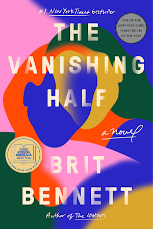 Book cover for The Vanishing Half by Brit Bennett