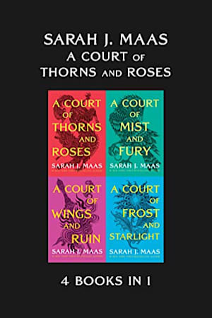 Book cover for A Court of Thorns and Roses: 4 Books in 1 by Sarah J. Maas