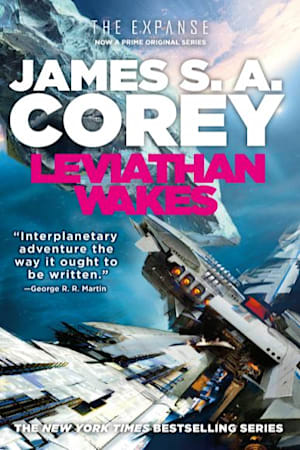 Book cover for Leviathan Wakes by James S. A. Corey