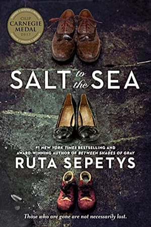 Book cover for Salt to the Sea by Ruta Sepetys