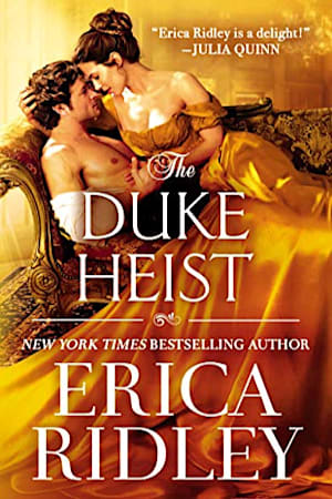 Book cover for The Duke Heist by Erica Ridley