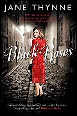 Book cover for Black Roses by Jane Thynne