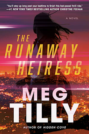 Book cover for The Runaway Heiress by Meg Tilly
