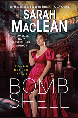 Book cover for Bombshell by Sarah MacLean