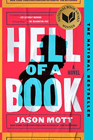 Book cover for Hell of a Book by Jason Mott