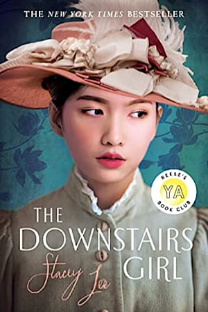 Book cover for The Downstairs Girl by Stacey Lee