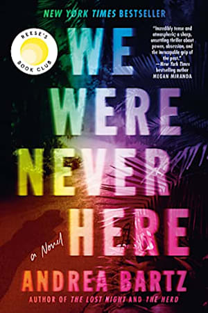 Book cover for We Were Never Here by Andrea Bartz
