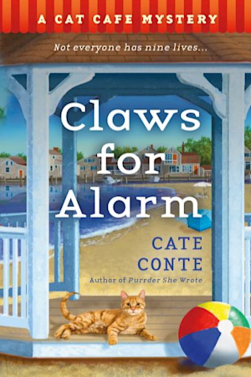 Book cover for Claws for Alarm by Cate Conte