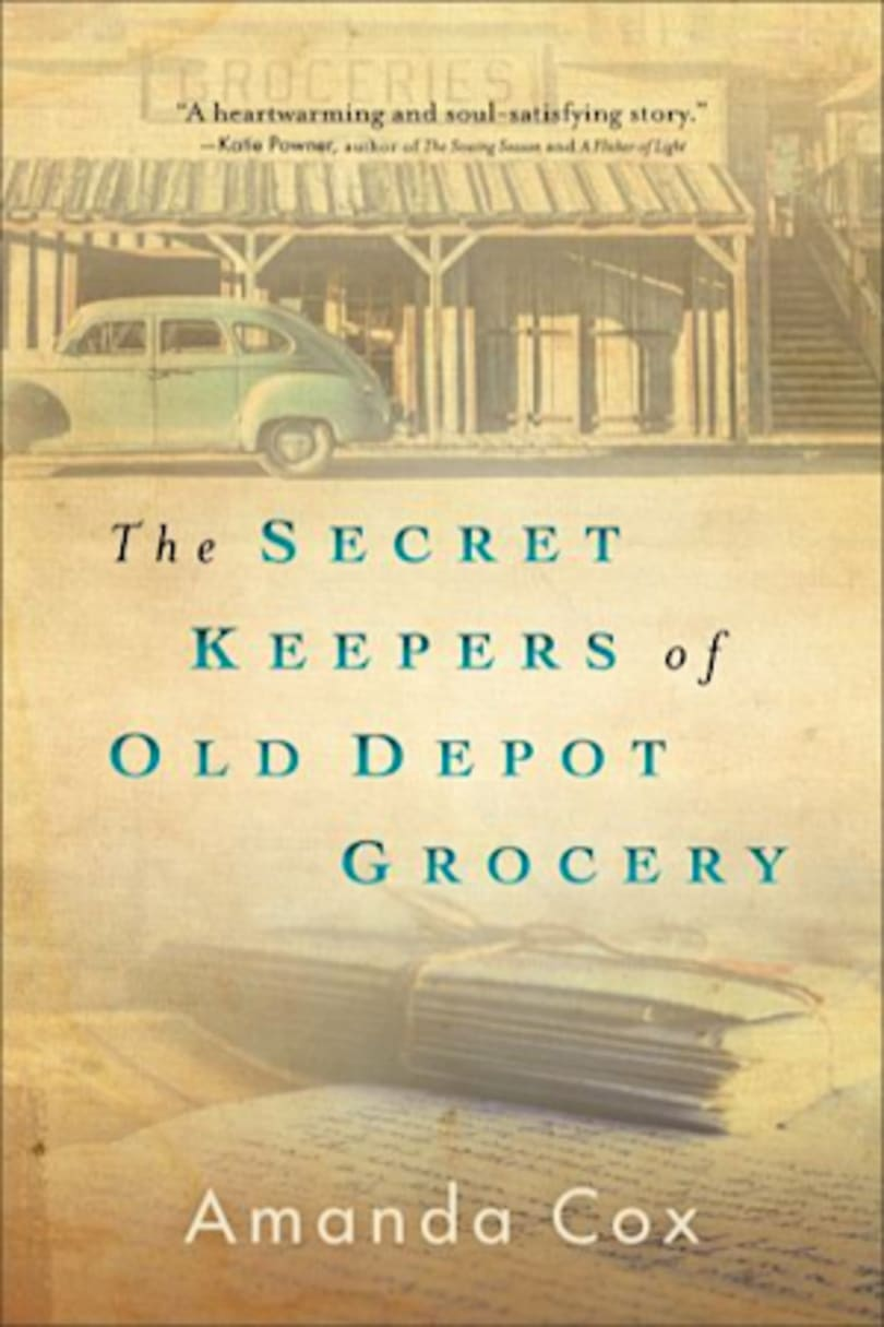 Book cover for The Secret Keepers of Old Depot Grocery by Amanda Cox