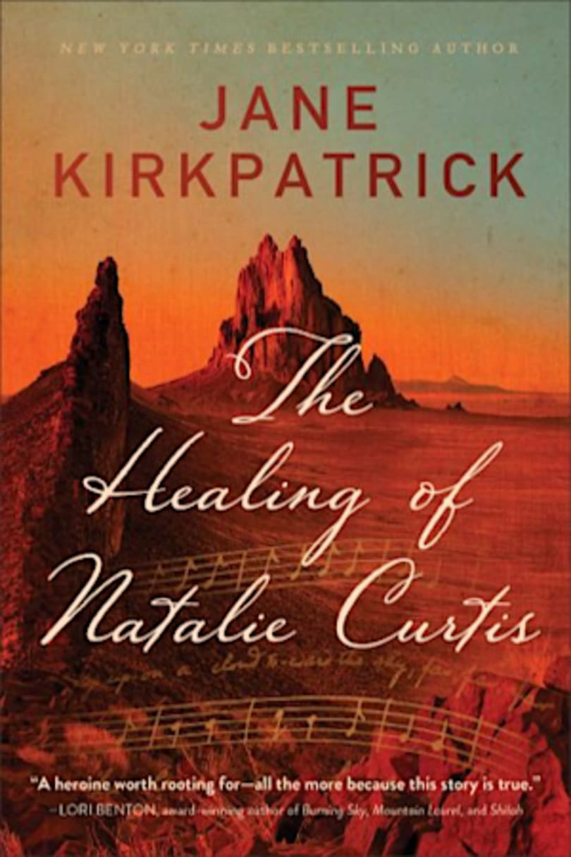 Book cover for The Healing of Natalie Curtis by Jane Kirkpatrick