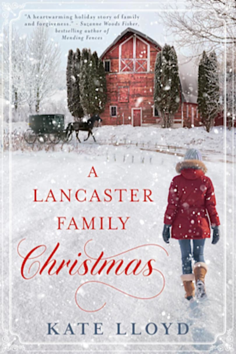 Book cover for A Lancaster Family Christmas by Kate Lloyd