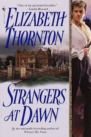 Book cover for Strangers at Dawn by Elizabeth Thornton
