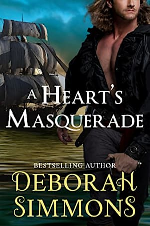 Book cover for A Heart's Masquerade by Deborah Simmons