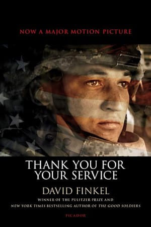 Book cover for Thank You for Your Service by David Finkel