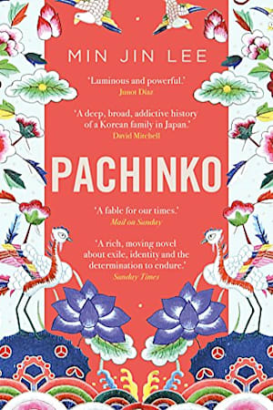 Book cover for Pachinko by Min Jin Lee