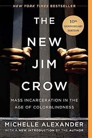 Book cover for The New Jim Crow by Cornel West, Michelle Alexander