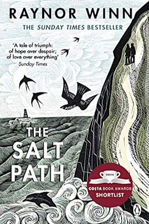 Book cover for The Salt Path by Raynor Winn