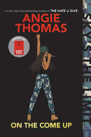 Book cover for On the Come Up by Angie Thomas