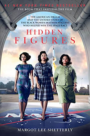 Book cover for Hidden Figures by Margot Lee Shetterly
