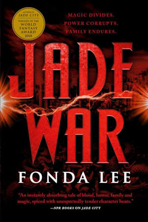 Book cover for Jade War by Fonda Lee