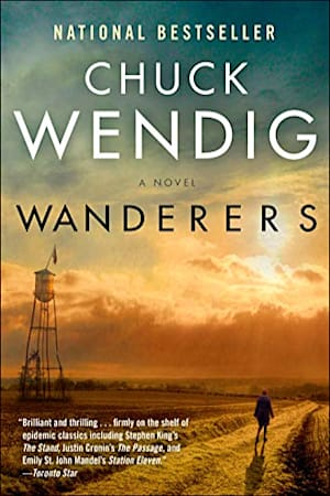 Book cover for Wanderers by Chuck Wendig